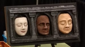 Hall of Faces Triptych