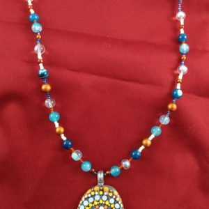 Fun and Colorful Mandala Necklace