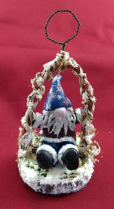 Front View of Gnome Ornament