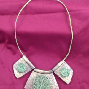 Full view of Celtic Necklace