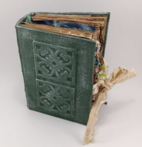 Front view of Handmade Journal